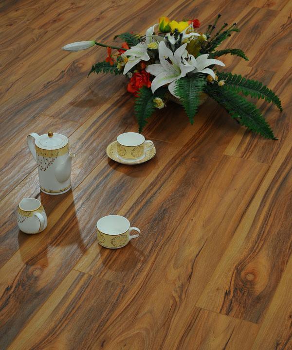 德尔田园风格TC03松鼠胡桃木强化复合地板TC03