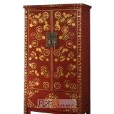 凡木居现代中式系列A3017红漆描金柜CW05