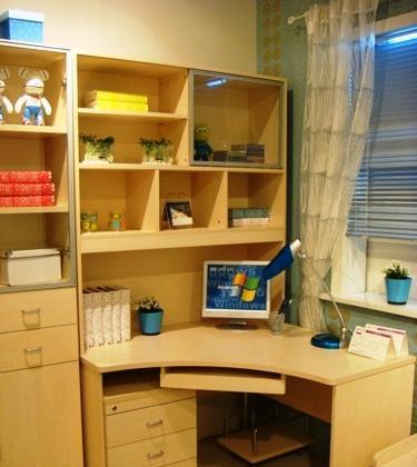 意风家具书房家具SG1-01C+3216A电脑书架SG1-01C+3216A