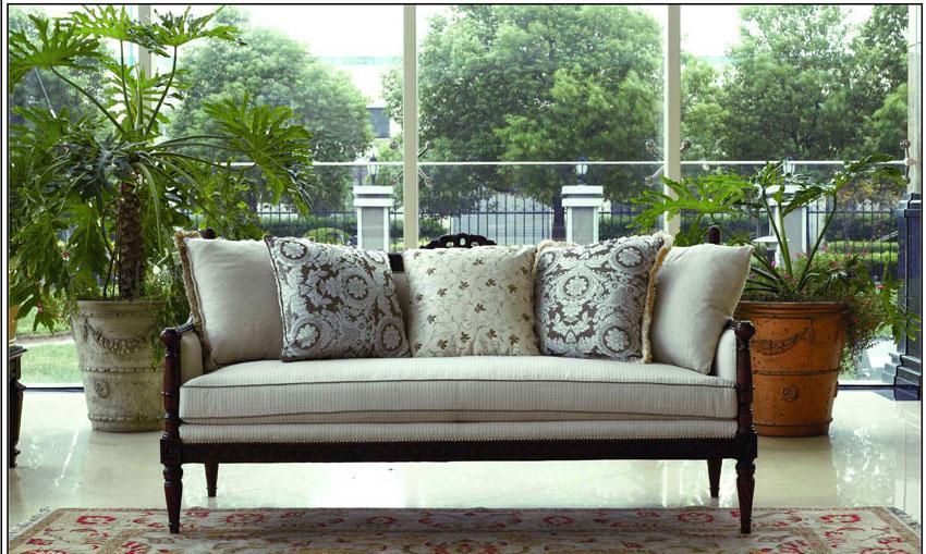 梵思豪宅客厅家具OP5050SF3p沙发OP5050SF3p