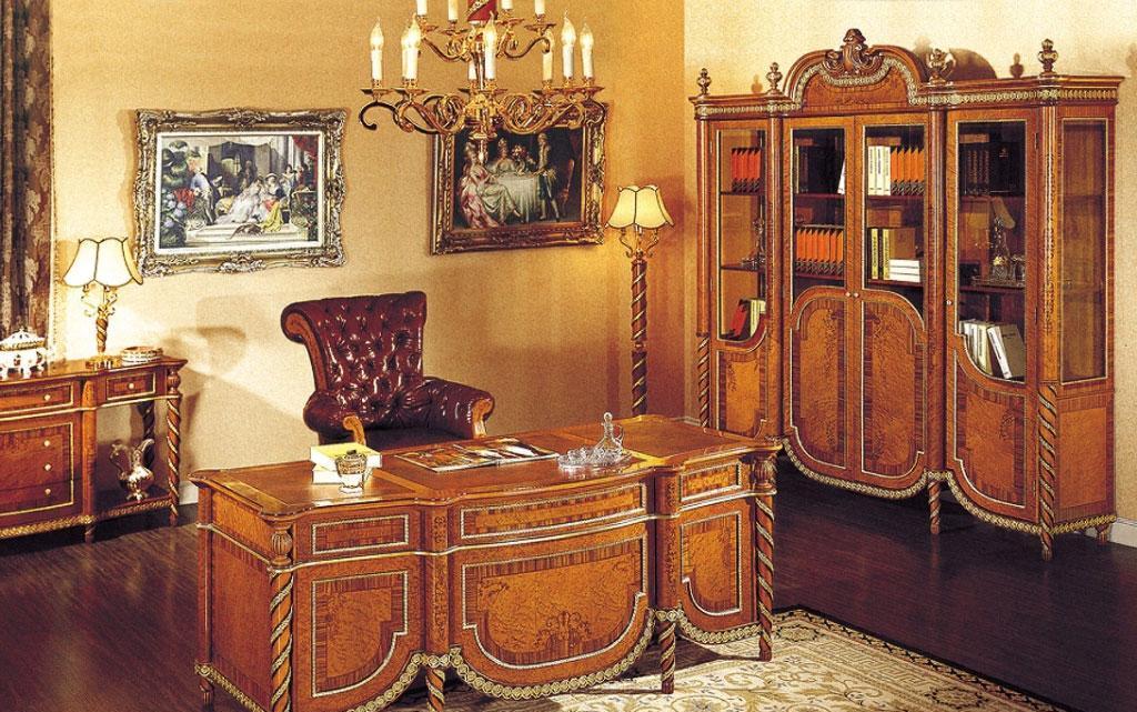 罗浮居书房家具贝尼斯系列套餐