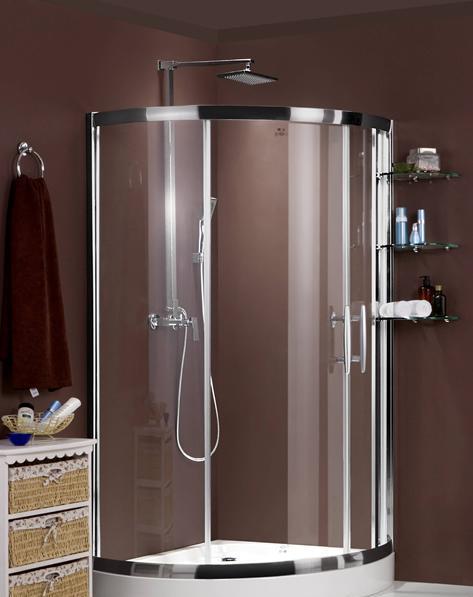 德立21系列R2112扇形推拉门淋浴房(小)R2112