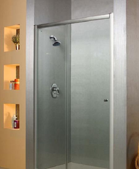 乐家卫浴威尼斯系列非标准型淋浴房(左开门,1固N004L0013