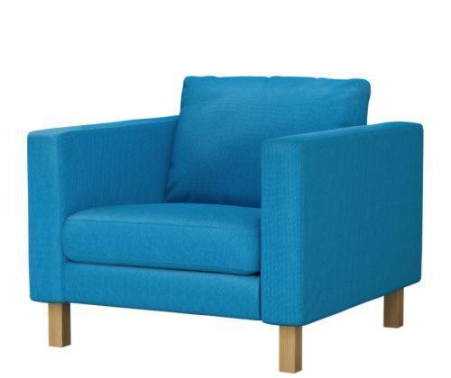 宜家卡斯塔(红色/绿色/蓝色/褐色)单人沙发