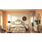 罗浮居卧室五件套意大利SILIK家具