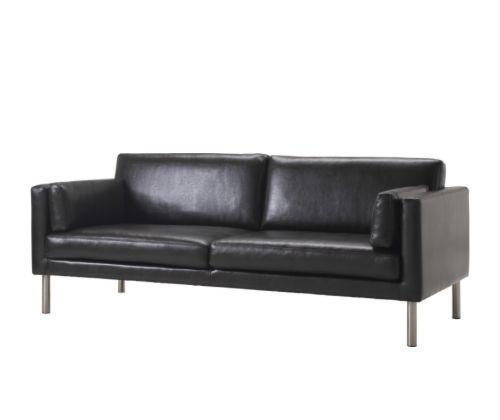 宜家萨特尔(深褐色)大双人沙发