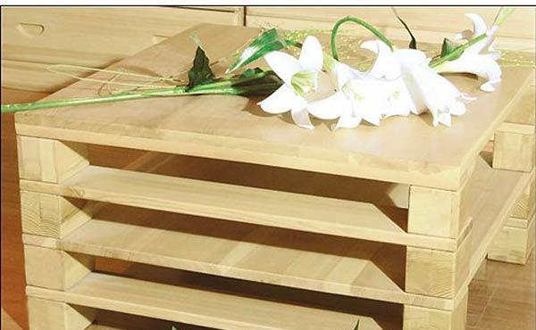 香柏年实木家具休闲方几G01G01