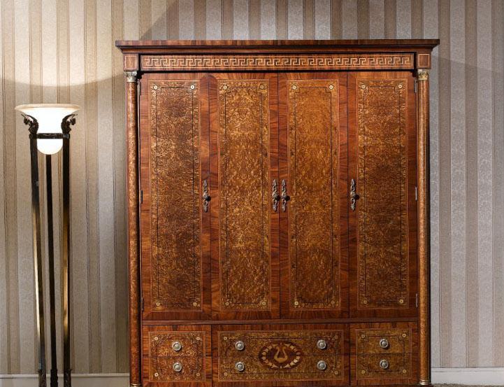 大风范家具奥菲斯主卧系列OP-851-8四门衣柜OP-851-8四门衣柜