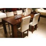 诺捷餐厅家具餐桌8N010花梨木色