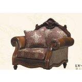 大风范家具路易十六客厅系列LV-691-1单人沙发