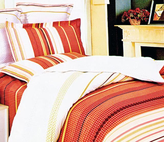 爱可阿尔卑斯樱草花床上用品斜纹全棉四件套S090S0903016