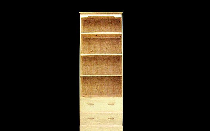贵人缘松木书柜H02H02