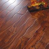 新绿洲曲线仿古系列平湖秋波实木地板