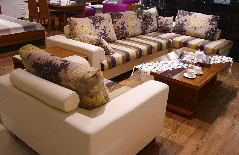 标致客厅家具沙发(仿皮)沙发