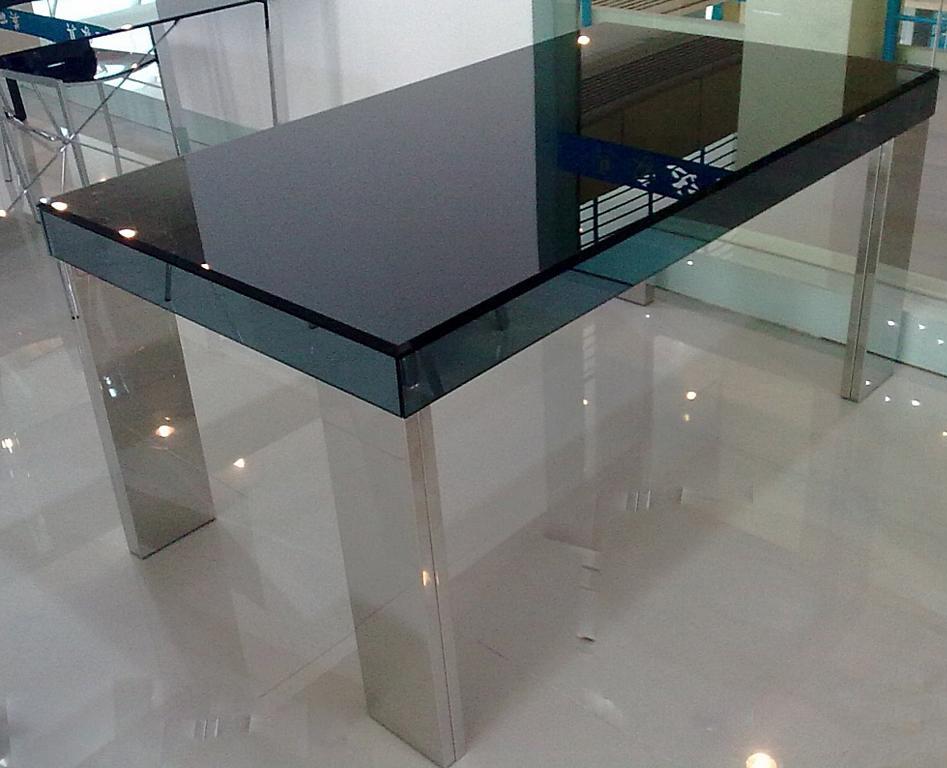 朗臣时尚透明系列DLY-T998餐桌