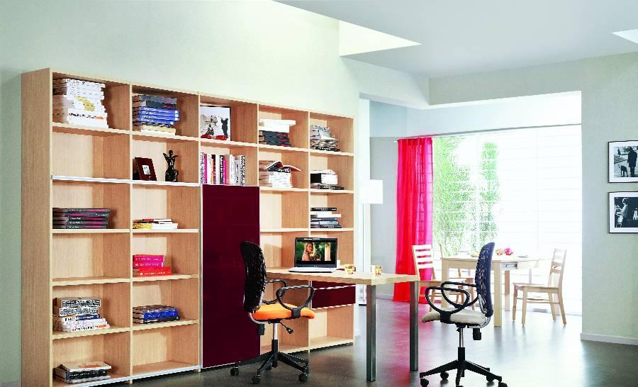 耐特利尔原橡木系列书柜-1-1