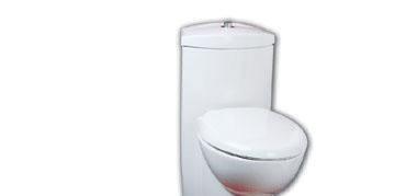 美标CP-2066节水型加长连体座厕(新)CP-2066
