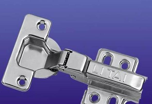 富力家具铰链二段力中弯四孔T005T005