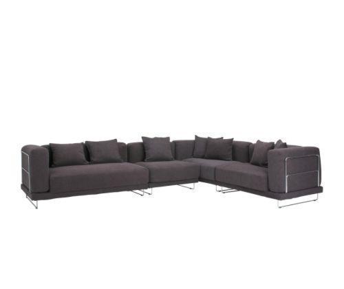 宜家转角泰洛桑(深褐色/白色/紫色/橙色)沙发
