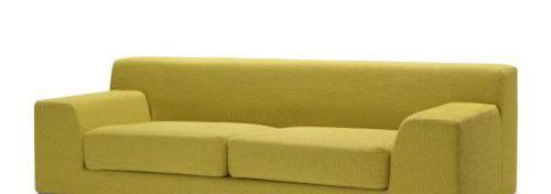 宜家克莱弗(淡紫色/深灰色/ 深青绿色/ 黄色)三人沙发