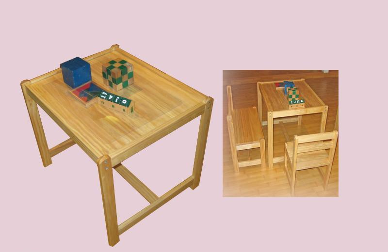 爱心城堡儿童家具方桌Y046-DK1Y046-DK1