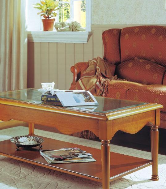 大风范家具新洛可可客厅系列RC-635长茶几RC-635长茶几