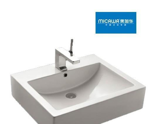 美加华M-4838艺术盆(方形设计)M-4838