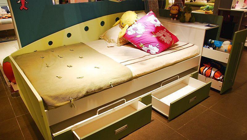多喜爱儿童家具宽箱床8A60-12-A+B8A60-12-A+B