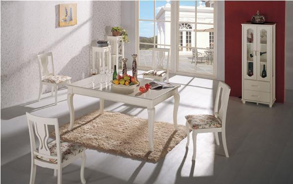 七彩年华欧乐雅餐桌(1600*950*760mm)欧乐雅