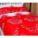 爱可婚庆系列伯尔尼绽放的花朵床上用品提花加印