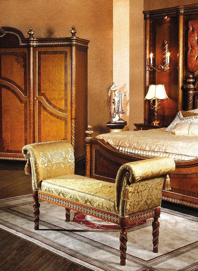罗浮居床尾椅贝尼斯系列381-107381-107