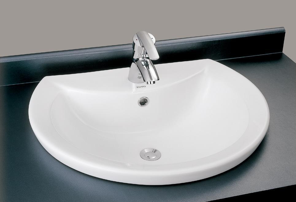 TOTO台上式洗面盆LW822CBLW822CB