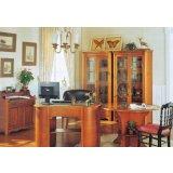 大风范家具洛可可书房系列RC-573圆书桌