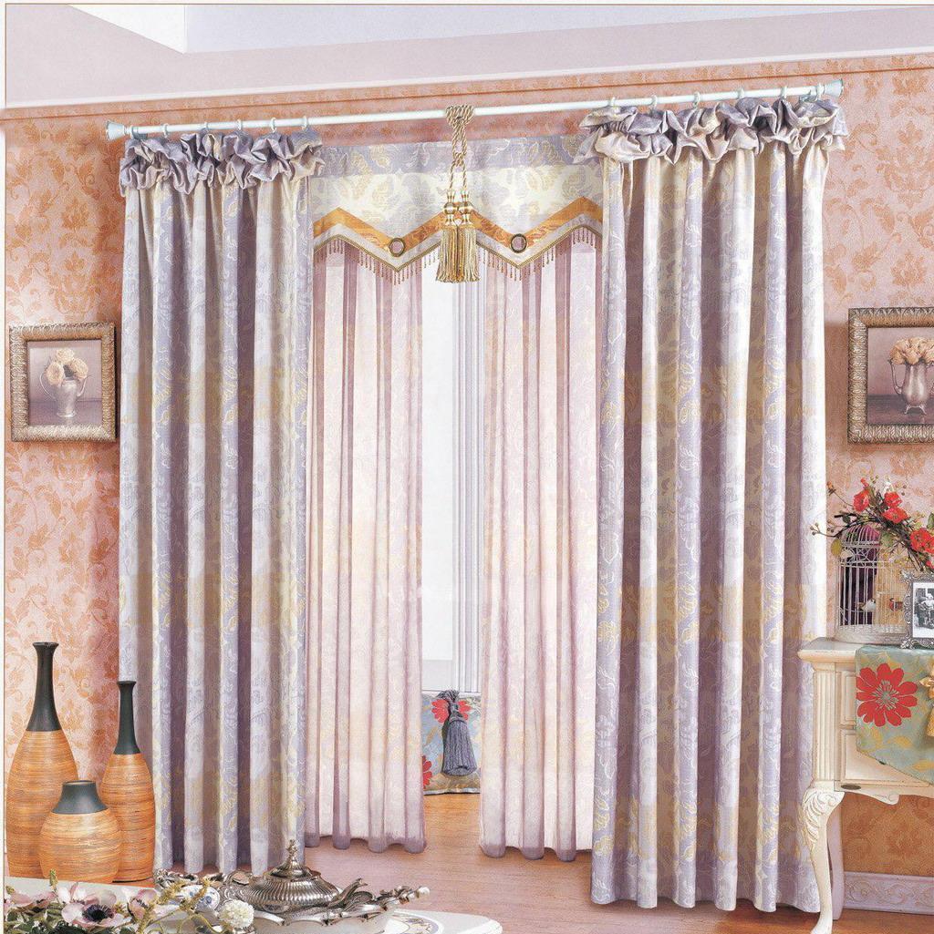 布易窗帘韩式小资系列紫迷斑驳紫迷斑驳