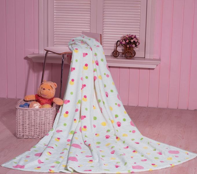 珑棉家纺印花珊瑚绒毯繁星印花珊瑚绒毯繁星