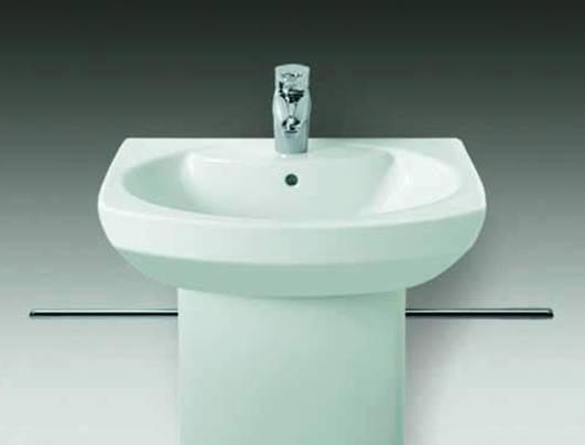 乐家卫浴丹圣系列半柱洗脸盆3-27512..03-27512..0