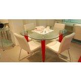 都市家园餐台+餐椅(4把)T256