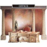 罗浮居书桌意大利SILIK家具F1-43-015-D24
