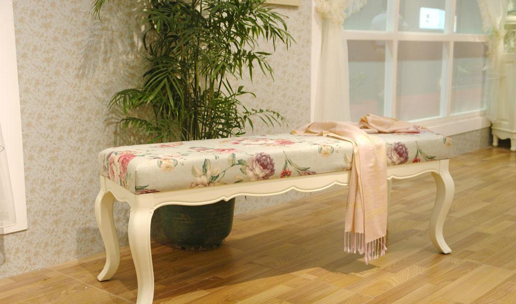 树之语床尾凳白色梦想系列MX305MX305