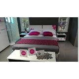 七彩人生整体卧室安比时尚环保烤漆板式家具简约