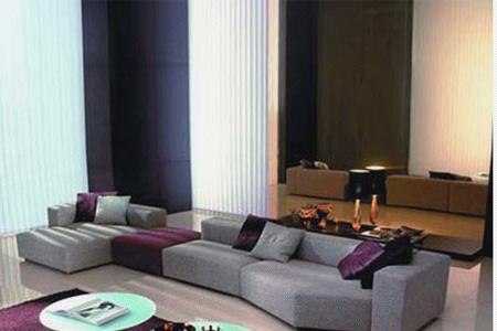 北山家居客厅家具转角沙发1SD183AD1SD183AD