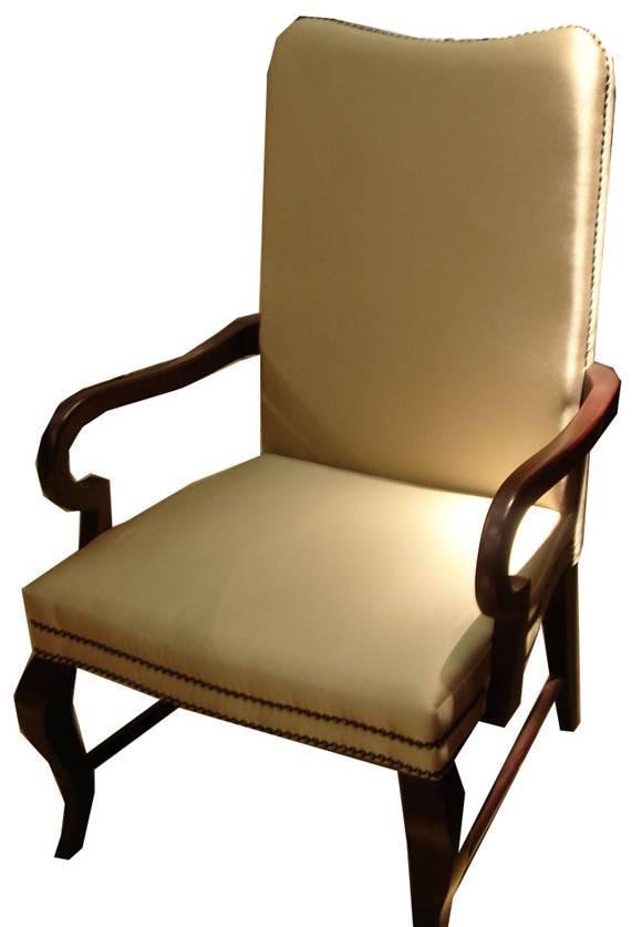 美凯斯客厅家具经典恋人系列扶手椅M-C763W(8112M-C763W(8112-09)