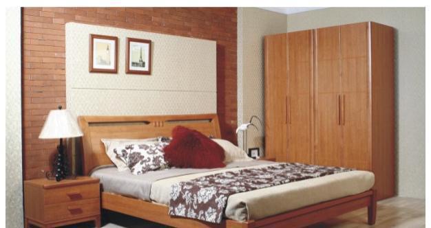 华源轩卧室床头柜樱桃2代系列R2802B