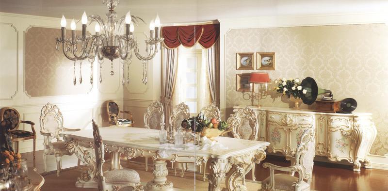 罗浮居餐桌合意大利SILIK家具MINERVAMINERVA