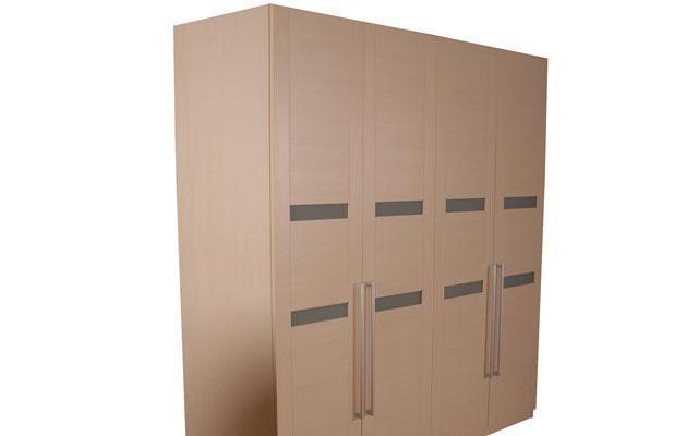 奥格枫木色系列A05衣柜配AG1门型A05衣柜