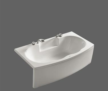 美加华浴缸压克力五金件单裙浴缸(水晶白)MJ-1MJ-1527Q