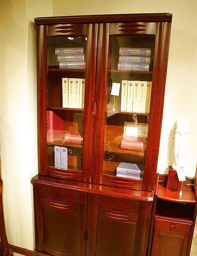 光明书房家具两门书柜086-6308b-100086-6308b-100