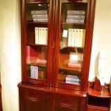光明书房家具两门书柜086-6308b-100
