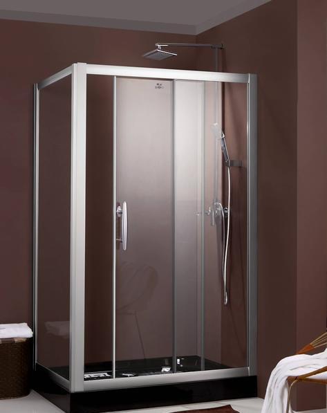 德立21系列L2101长方型推拉门淋浴房