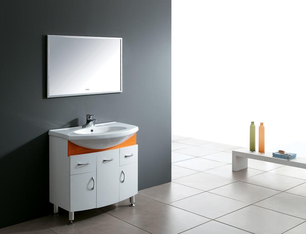 安华卫浴PVC浴室柜系列aP3305G盆+柜aP3305G盆+柜